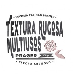 PASTA TEXTURA RUGOSA - 300 GR