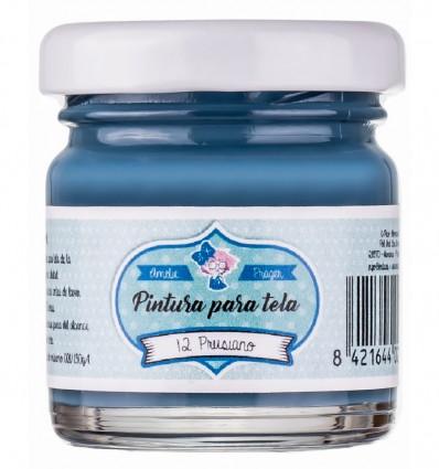 Pintura Tela 12 Prusiano - 30 ml