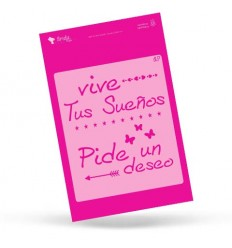 Amelie Stencil - 01002 Vive Tus Sueños