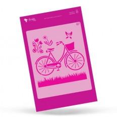 Amelie Stencil - 02015 Bicicleta