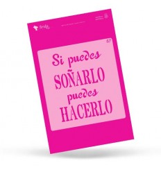Amelie Stencil - 01032 Soñarlo, Hacerlo ...