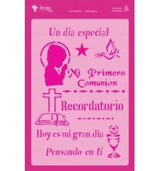 Amelie Stencil - 03052 Mi Primera Comunión