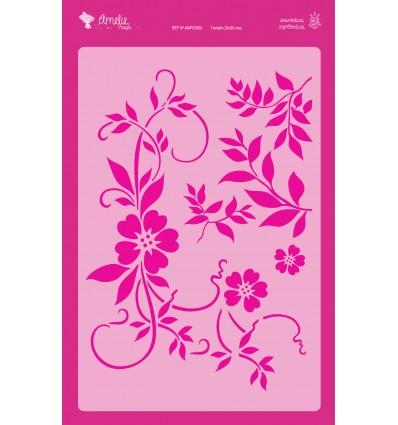 Amelie Stencil - 03055 Ramillete Floral