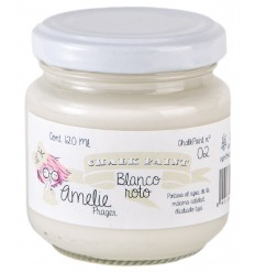 Amelie Chalk Paint 02 Blanco Roto - 120 ml