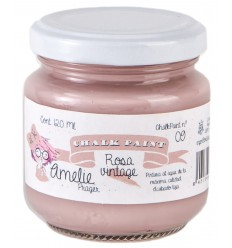 Amelie Chalk Paint 09 Rosa Vintage - 120 ml
