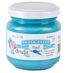 Amelie Chalk Paint 39 Azul Turquesa - 120 ml