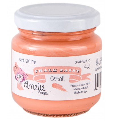 Amelie ChalkPaint 42 Coral 120 ml