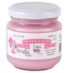 Amelie ChalkPaint 43 Rosa Bebe 120 ml