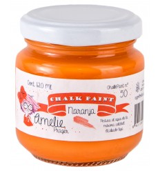 Amelie Chalk Paint 50 Naranja - 120 ml