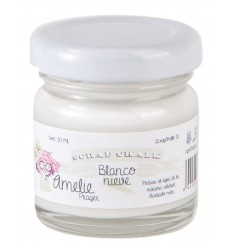 Chalk paint Amelie 01 Blanco Nieve - 30 ml