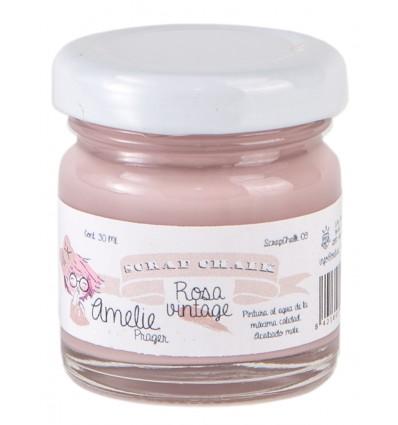 Amelie Scrap Chalk 09 Rosa Vintage 30 ml
