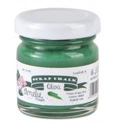 Amelie Scrap Chalk 36 Oliva 30 ml