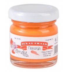 Amelie Scrap Chalk 50 Naranja 30 ml