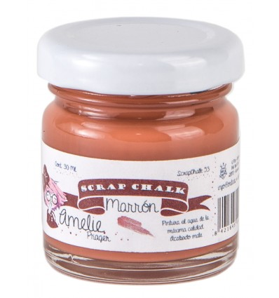 Amelie Scrap Chalk 53 Marron 30 ml