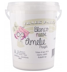 Amelie Chalk Paint 01 Blanco Nieve - 1L