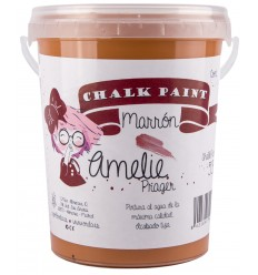 Amelie Chalk Paint 53 Marrón - 1L