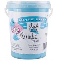 Amelie Chalk Paint 56 azul bebe - 1L
