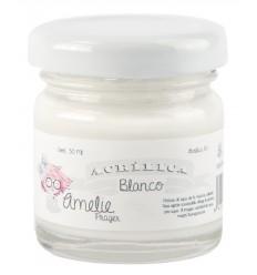 Amelie Acrílica 01 Blanco - 30 ML