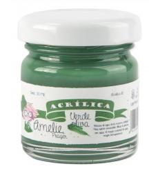 Amelie Acrílico 10 Verde Oliva. 30 ml