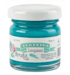 Amelie Acrílico 12 Turquesa. 30 ml