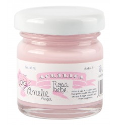Amelie Acrílico 19 Rosa Bebe. 30 ml