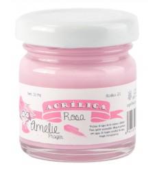 Amelie Acrílico 20 Rosa. 30 ml