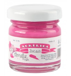 Amelie Acrílico 21 Fucsia. 30 ml