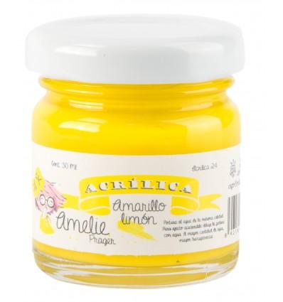 Amelie Acrílico 25 Limon. 30 ml