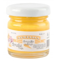Amelie Acrílico 25 Amarillo Cadmio. 30 ml