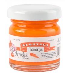 Amelie Acrílico 27 Naranja. 30 ml