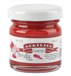 Amelie Acrílico 29 Carmin. 30 ml
