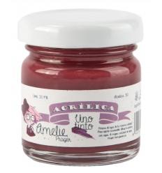 Amelie Acrílica 30 Vino tinto - 30 ML