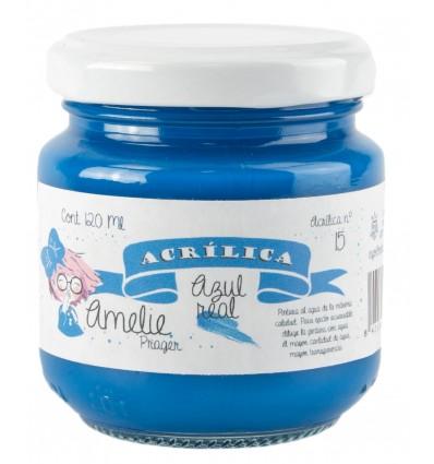Amelie Acrílica 15 AZUL REAL 120ml