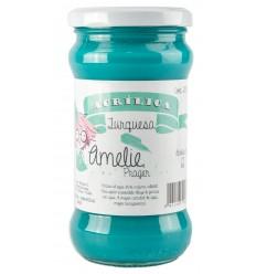 Amelie Acrílica 12 Turquesa - 280 ml