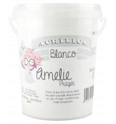 Amelie Acrilica 01 BLANCO 1L