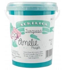 Amelie Acrilica 12 TURQUESA 1L