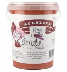 Amelie Acrilica 33 ROJO INGLES 1L