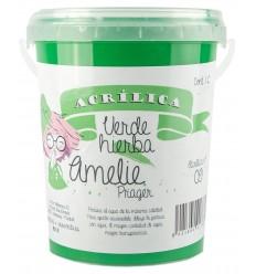 Amelie Acrilica 09 VERDE HIERBA 3L