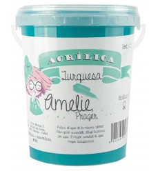 Amelie Acrilica 12 TURQUESA 3L