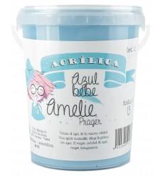 Amelie Acrilica 13 AZUL BEBE 3L