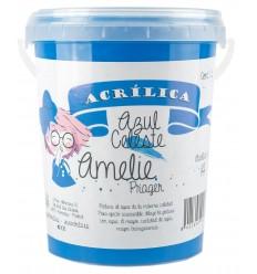 Amelie Acrilica 14 AZUL CELESTE 3L