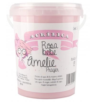 Amelie Acrilica 19 ROSA BEBE 3L