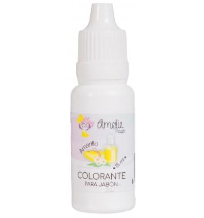 Colorante Jabón 6 Amarillo - 15 ml