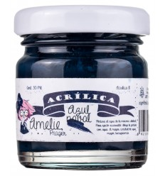 Amelie Acrílico 18 Azul Naval. 30 ml
