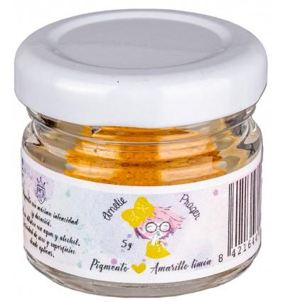 Pigmento Amarillo Limón - 5 gr