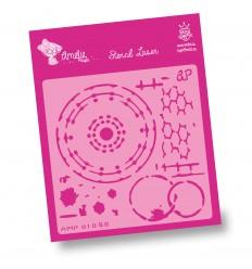 Amelie Stencil - 01056 Fondos Varios