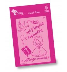 Amelie Stencil - 03100 Mi Primera Comunión Chica