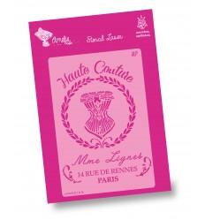 Amelie Stencil - 03103 Aute Couture