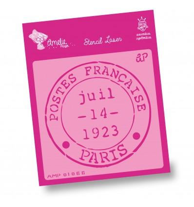 Amelie Stencil - 01066 Sello de Paris