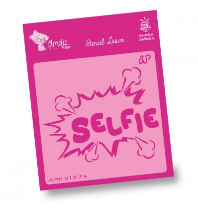 Amelie Stencil - 01074 Selfie
